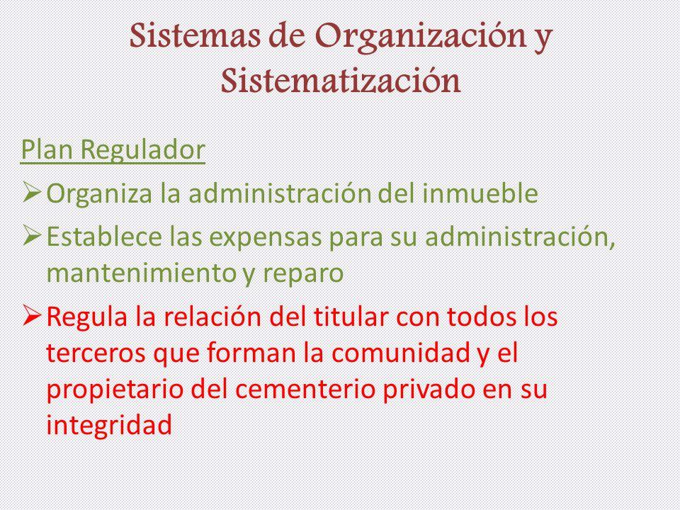 Sistemas de Organización y Sistematización