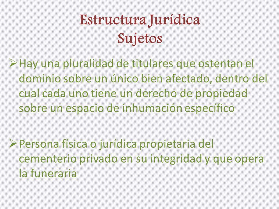 Estructura Jurídica Sujetos