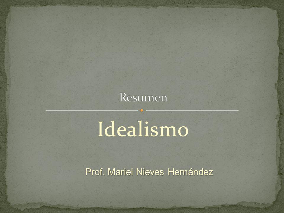 Prof. Mariel Nieves Hernández
