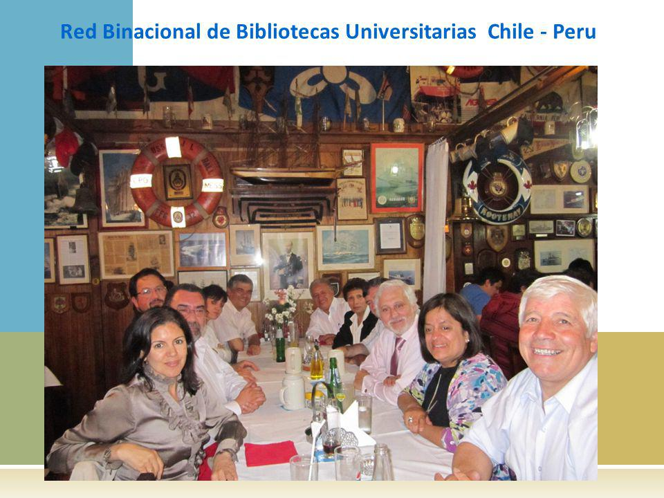 Red Binacional de Bibliotecas Universitarias Chile - Peru