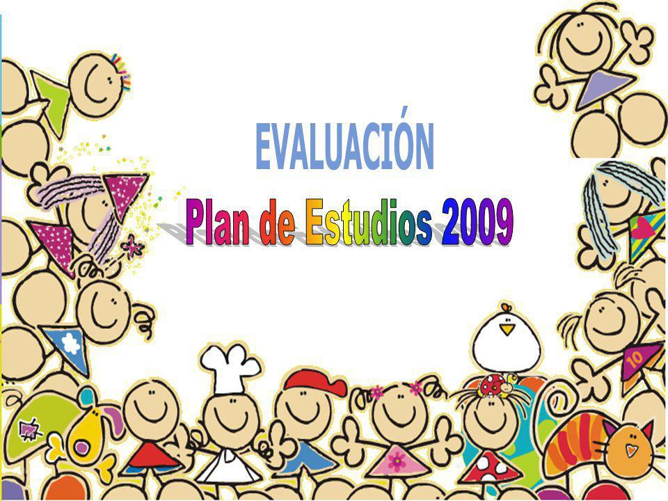 EVALUACIÓN Plan de Estudios 2009