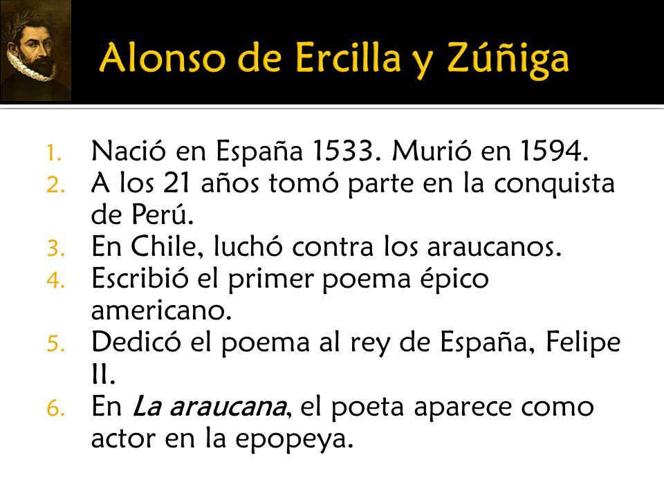 Alonso de Ercilla y Zúñiga