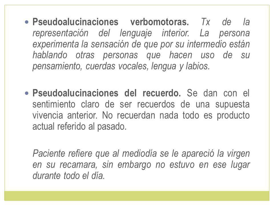 Pseudoalucinaciones verbomotoras