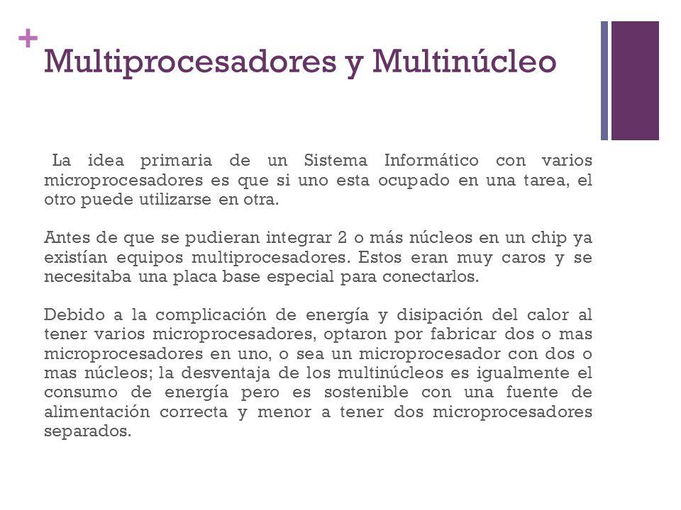 Multiprocesadores y Multinúcleo
