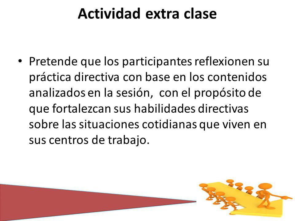 Actividad extra clase