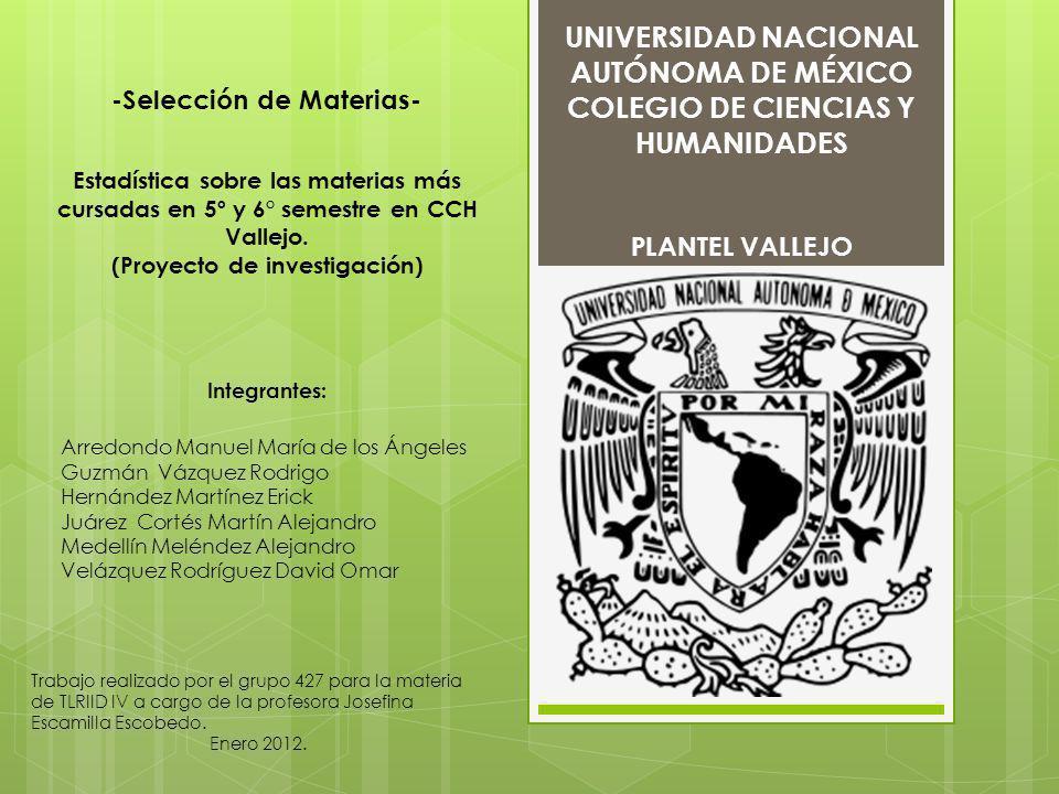 COLEGIO DE CIENCIAS Y HUMANIDADES