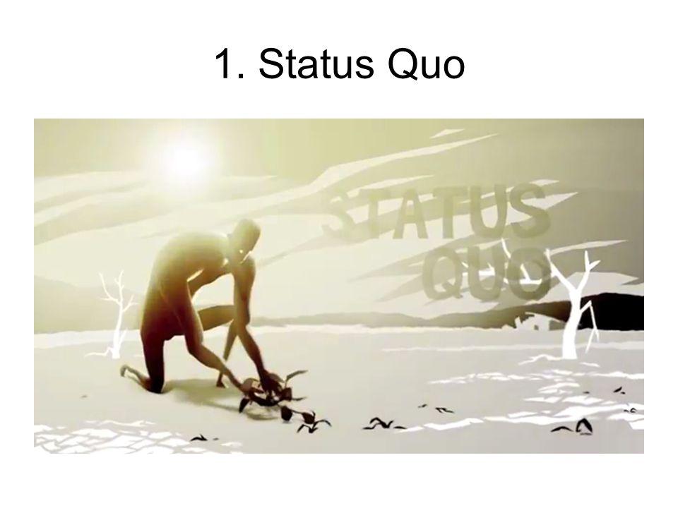 1. Status Quo El personaje se encuentra en su zona de confort.