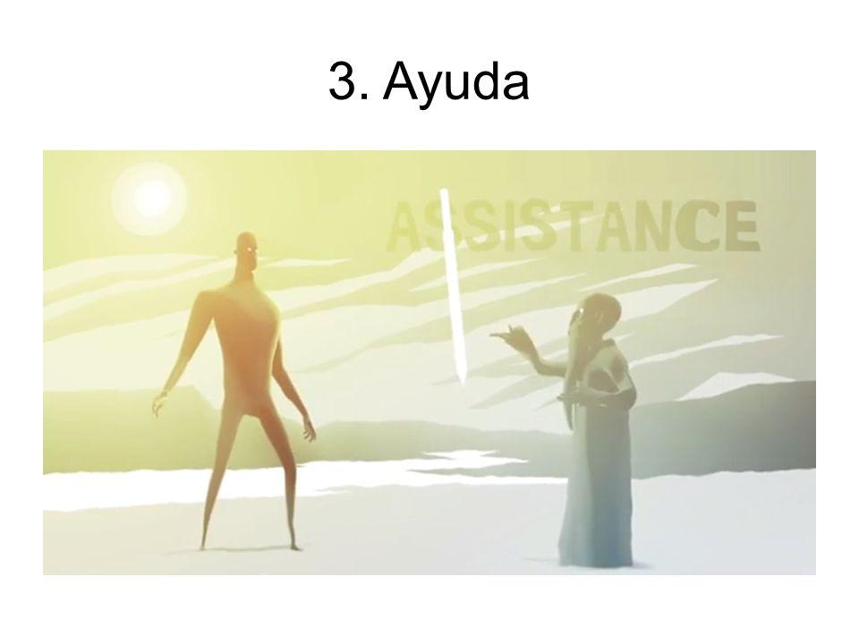3. Ayuda Un personaje secundario aconseja al personaje principal.