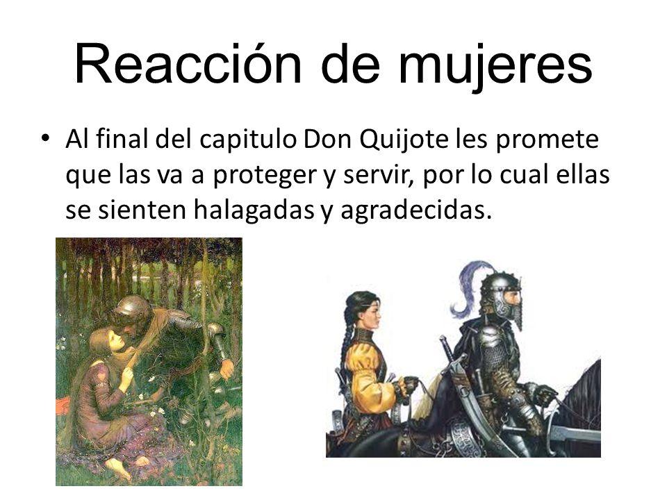 Reacción de mujeres