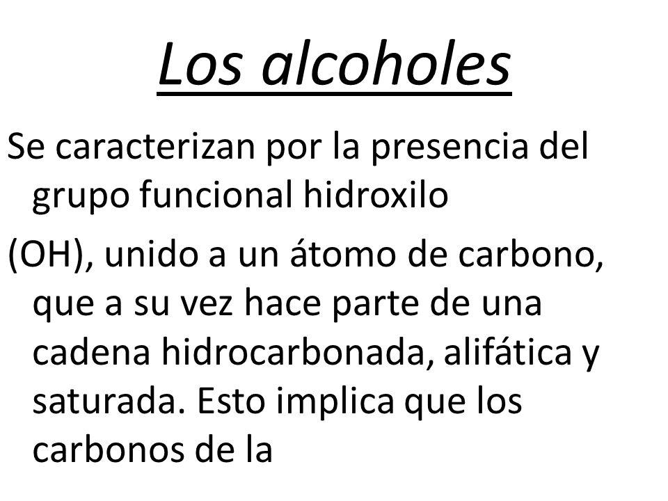 Los alcoholes