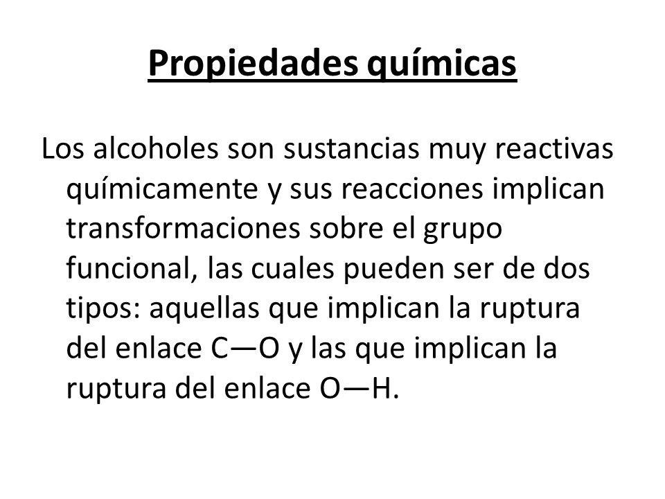 Propiedades químicas