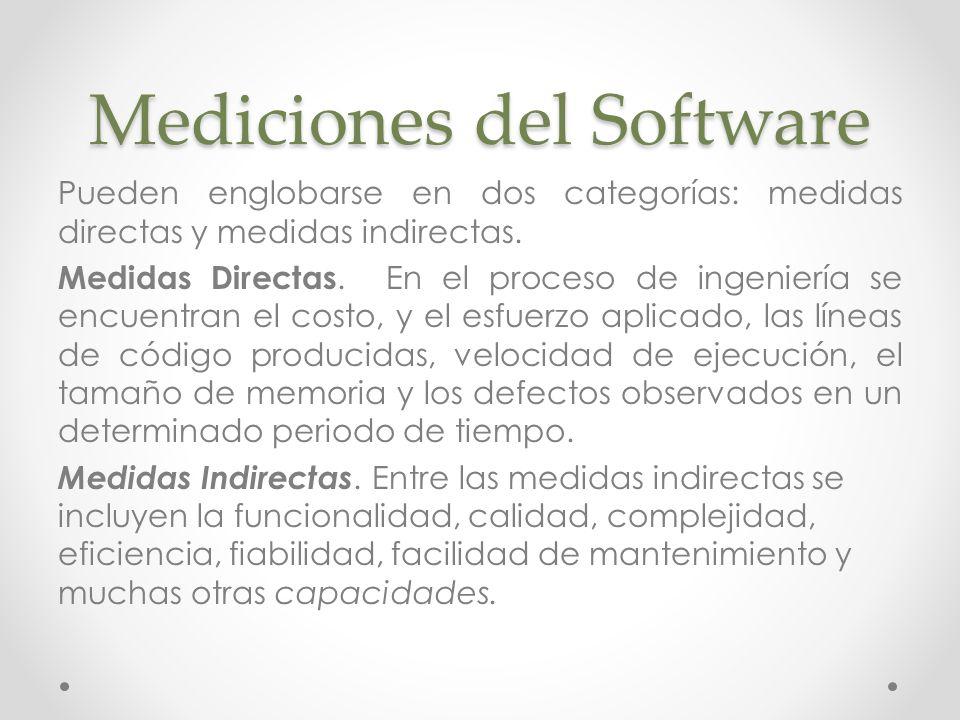 Mediciones del Software