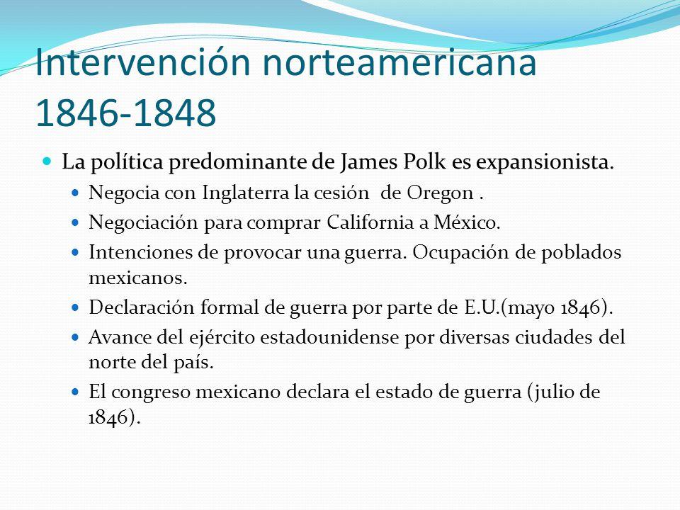 Intervención norteamericana 1846-1848