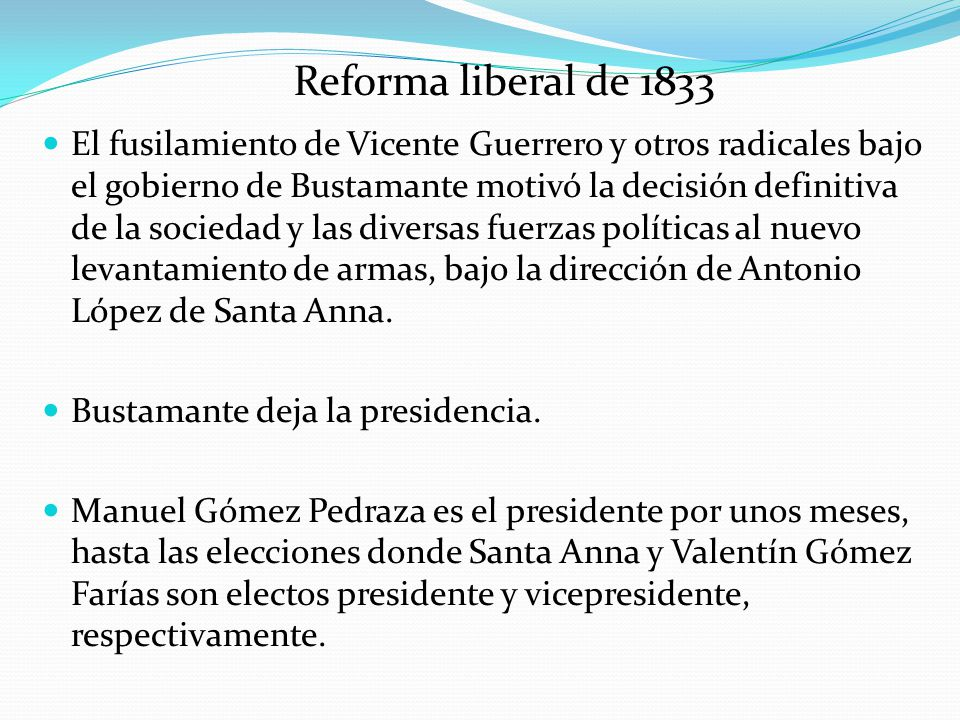 Reforma liberal de 1833