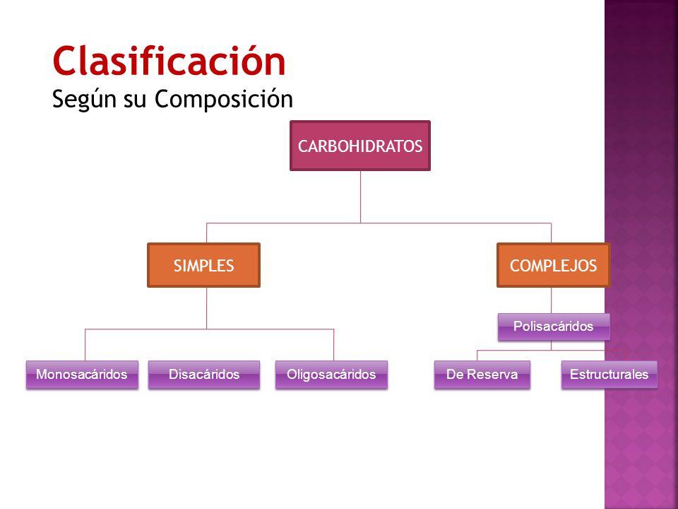 Clasificación Según su Composición