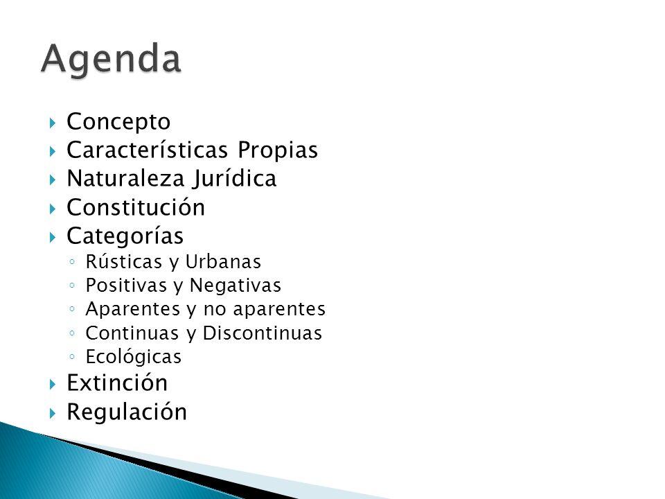 Agenda Concepto Características Propias Naturaleza Jurídica