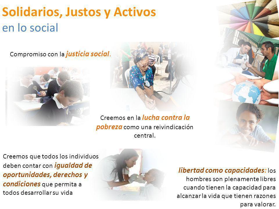 Solidarios, Justos y Activos