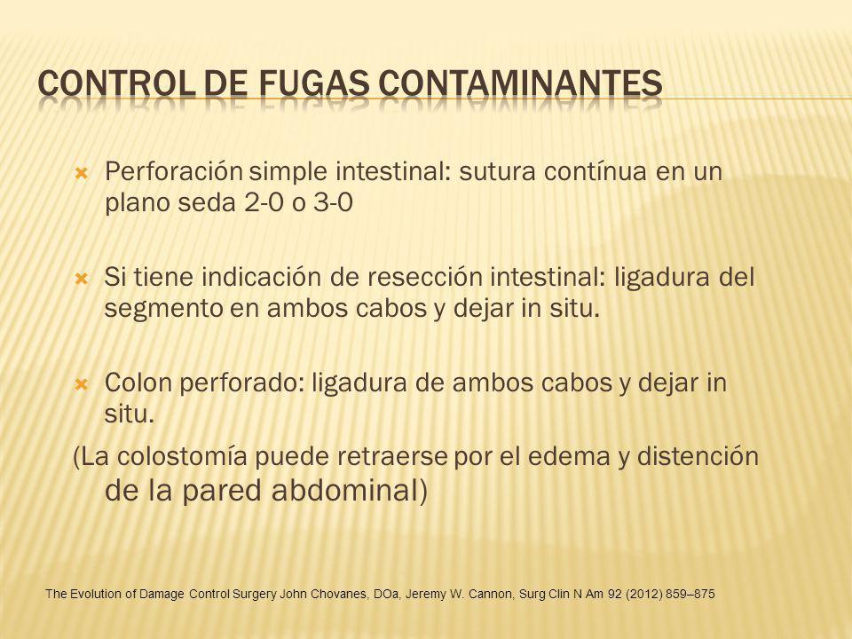 CONTROL DE FUGAS CONTAMINANTES