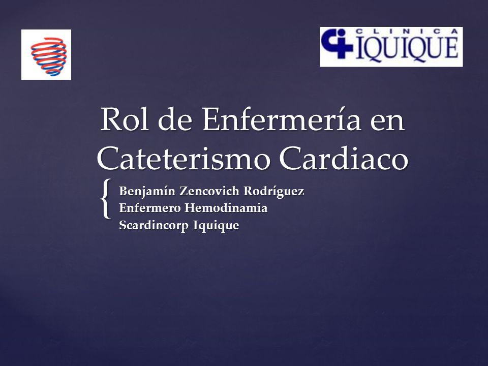 Rol de Enfermería en Cateterismo Cardiaco