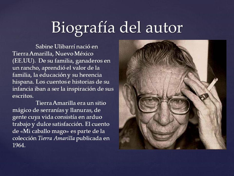 Biografía del autor