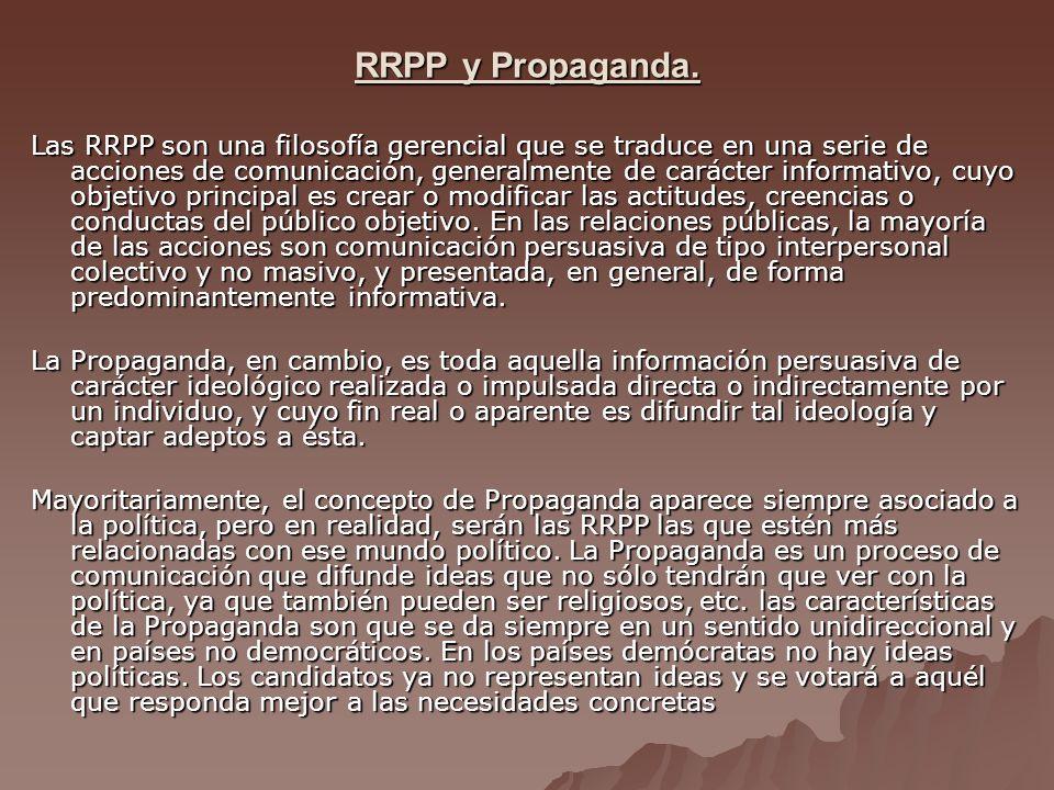 RRPP y Propaganda.