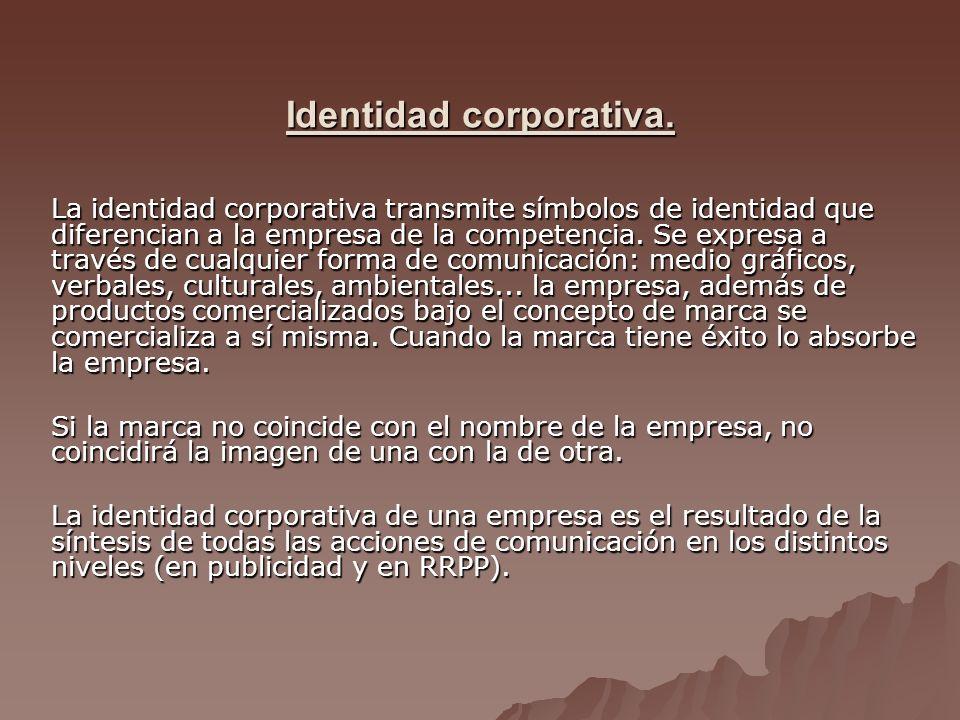 Identidad corporativa.