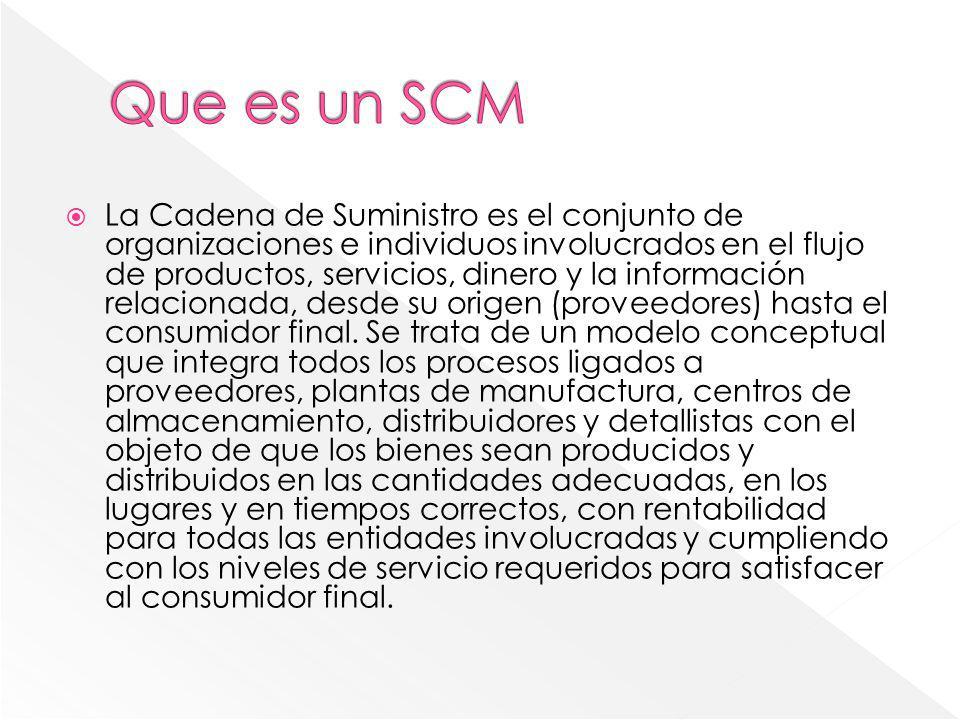 Que es un SCM