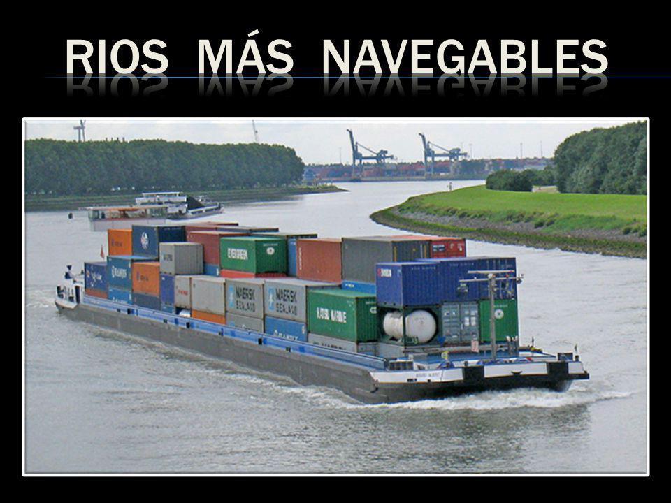 RIOS MÁS NAVEGABLES