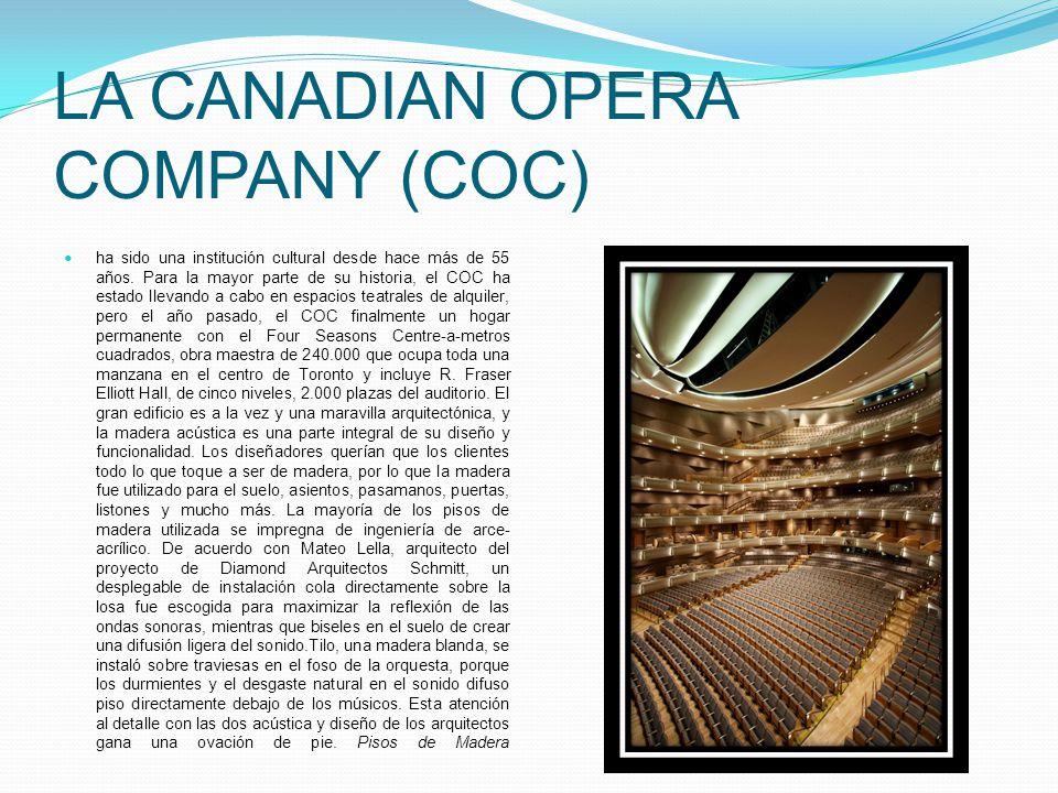 La Canadian Opera Company (COC)