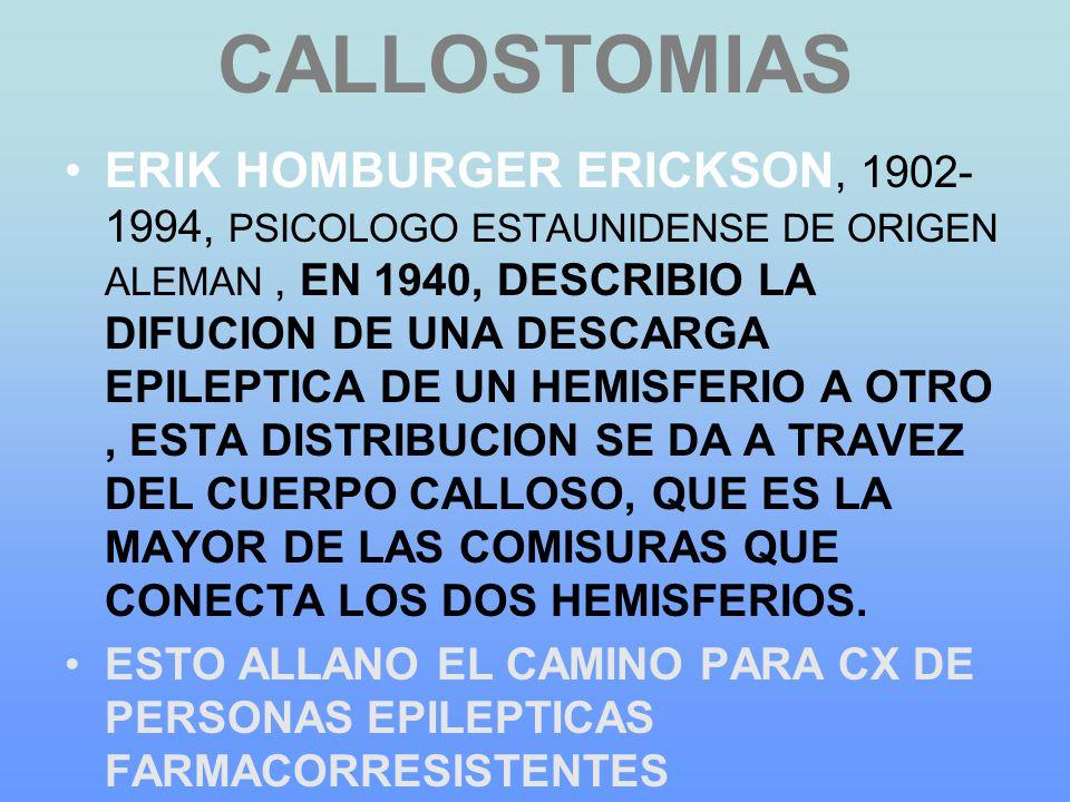 CALLOSTOMIAS