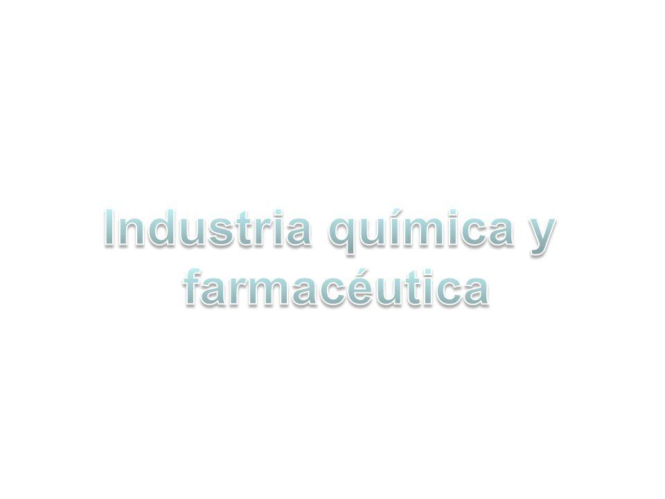 Industria química y farmacéutica