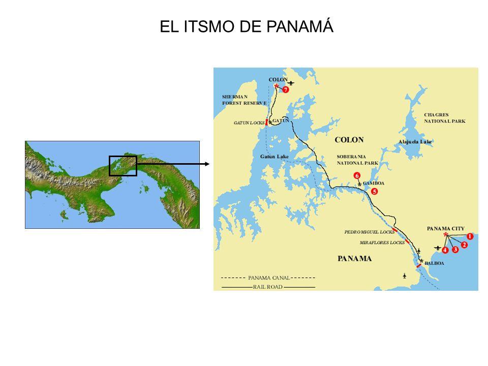 EL ITSMO DE PANAMÁ