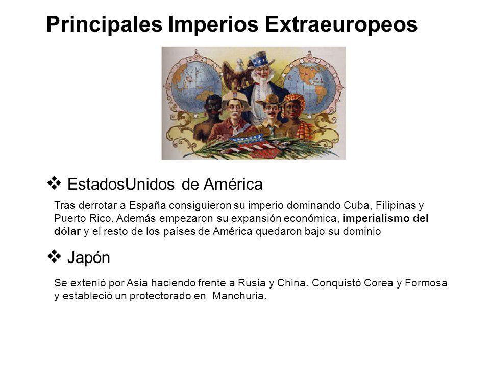 Principales Imperios Extraeuropeos