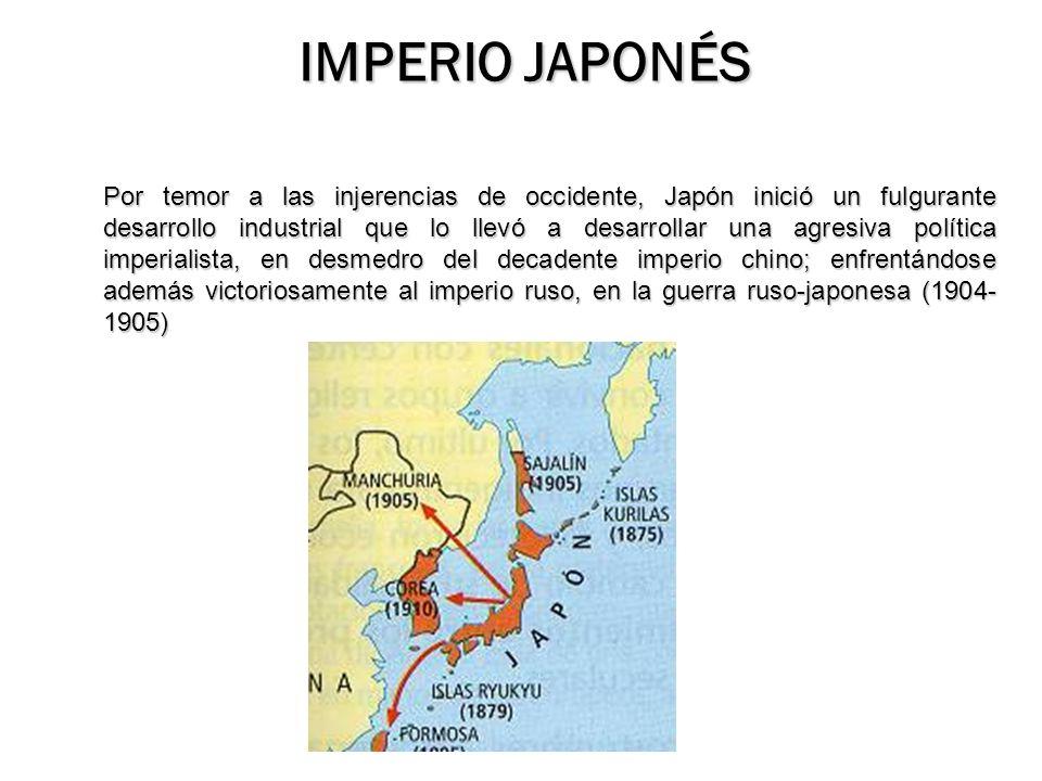 IMPERIO JAPONÉS