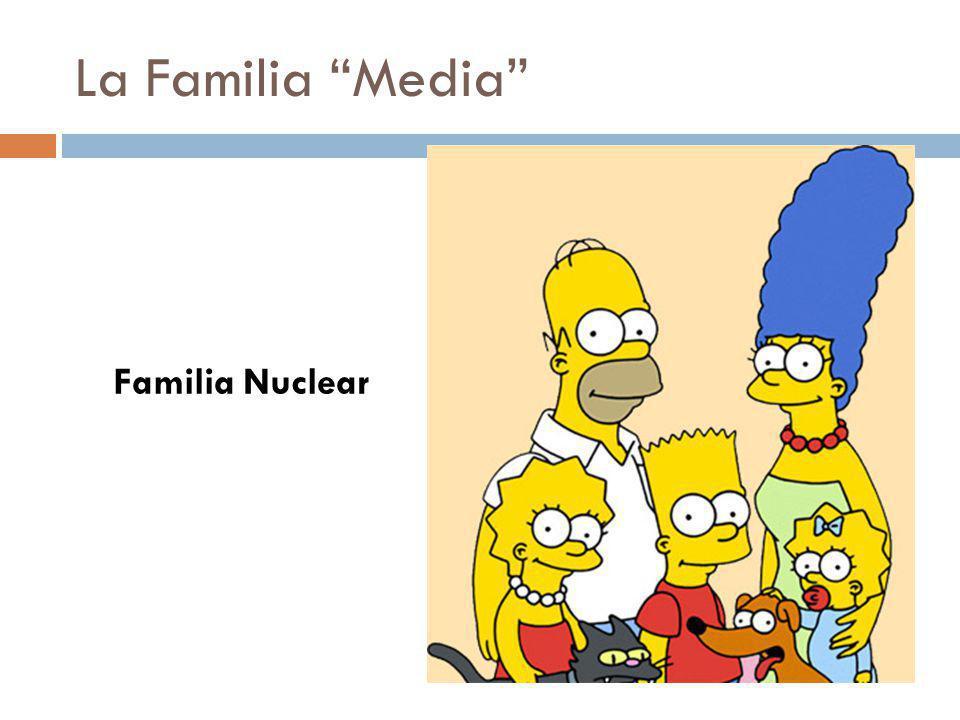 La Familia Media Familia Nuclear