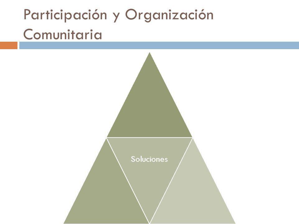 Participación y Organización Comunitaria