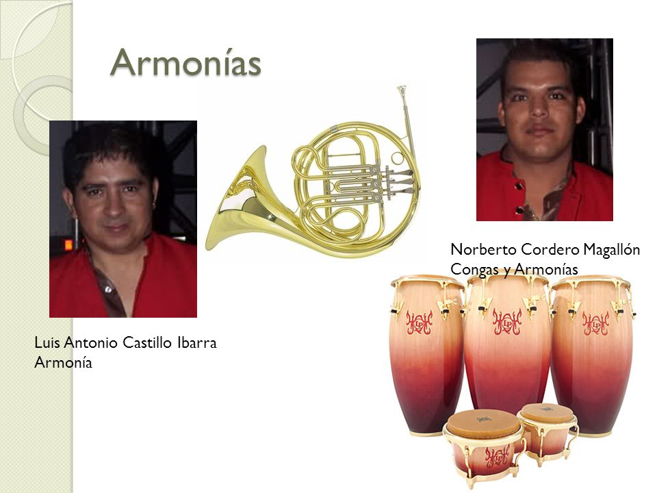 Armonías Norberto Cordero Magallón Congas y Armonías