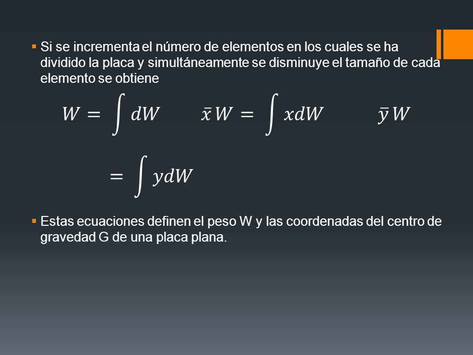 Si se incrementa el número de elementos en los cuales se ha dividido la placa y simultáneamente se disminuye el tamaño de cada elemento se obtiene