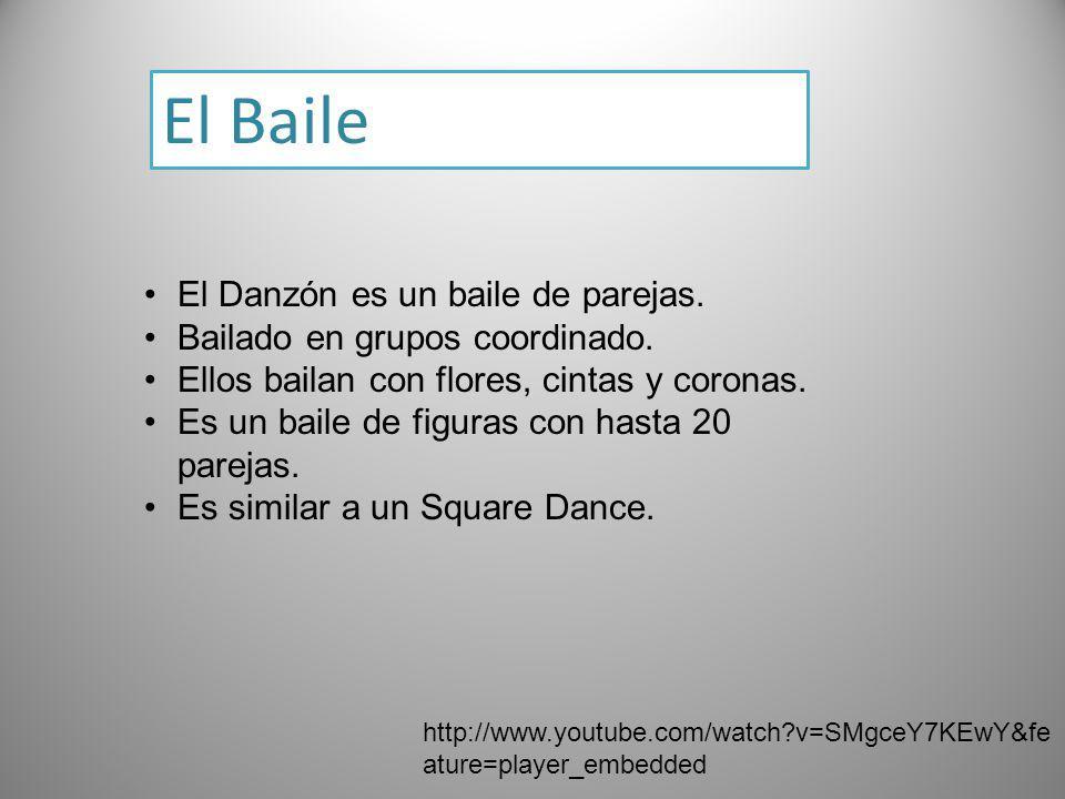El Baile El Danzón es un baile de parejas.