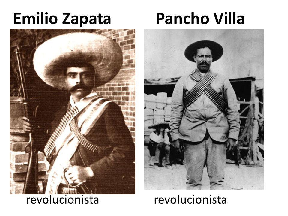 Emilio Zapata Pancho Villa
