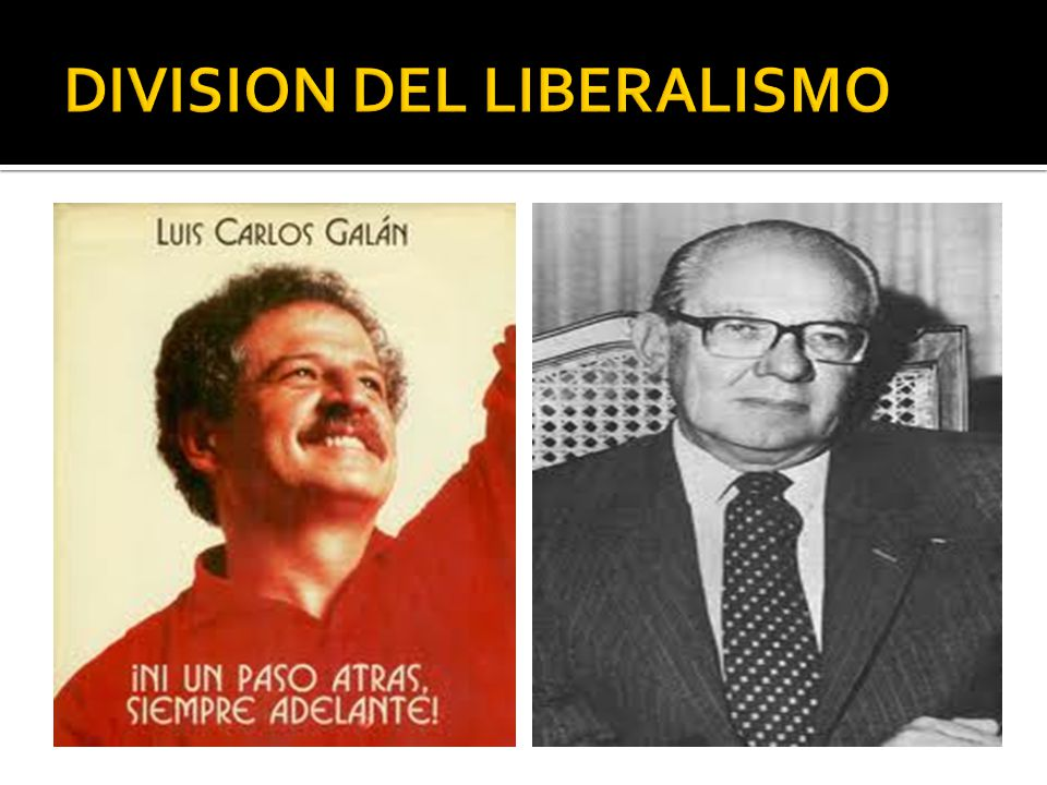 DIVISION DEL LIBERALISMO