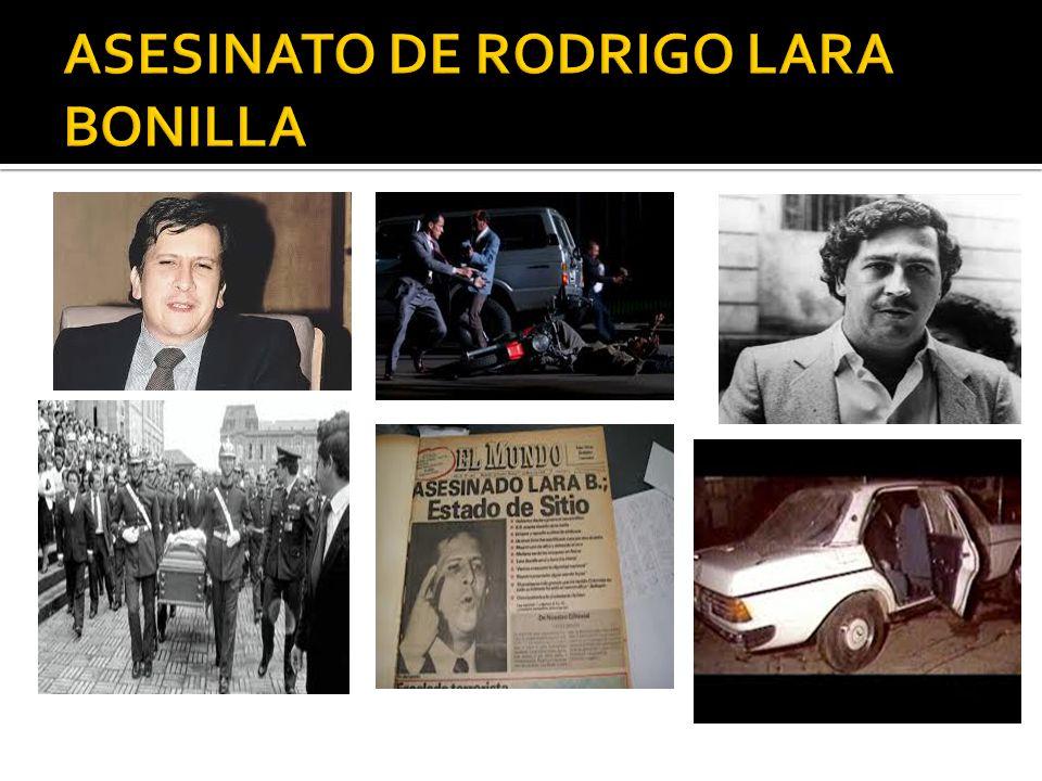 ASESINATO DE RODRIGO LARA BONILLA