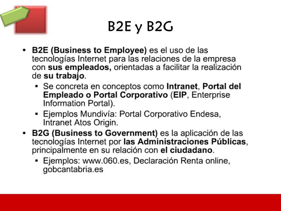 B2E y B2G