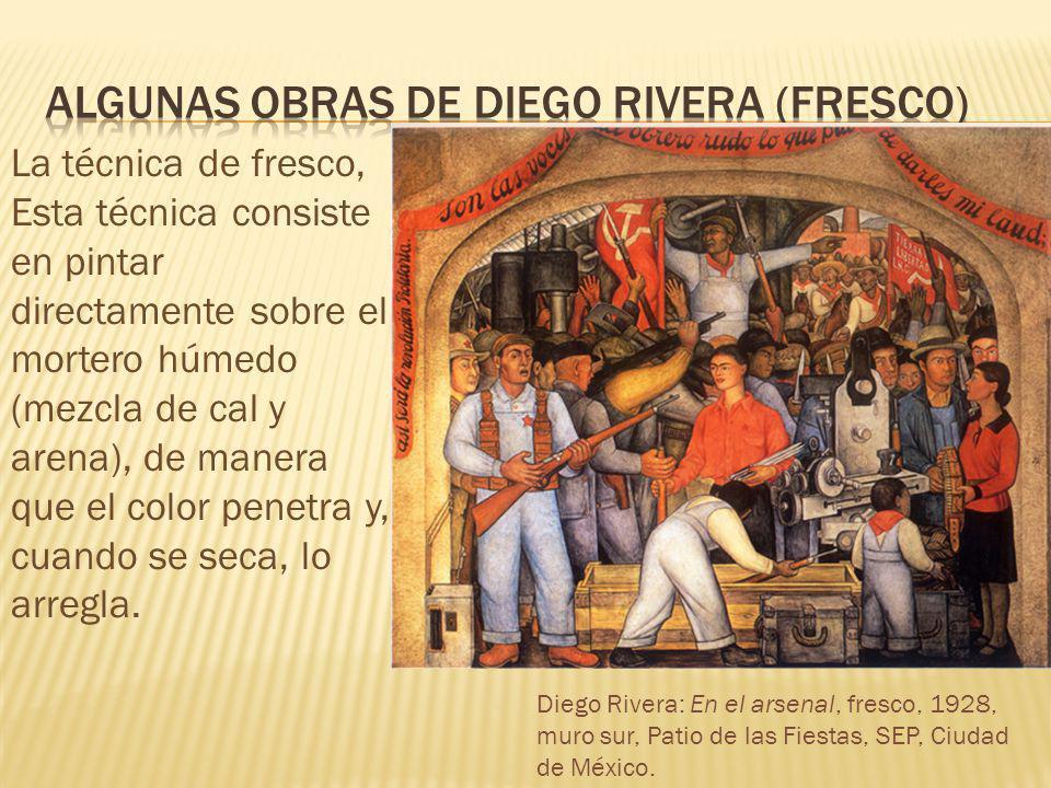 Algunas Obras de diego rivera (Fresco)