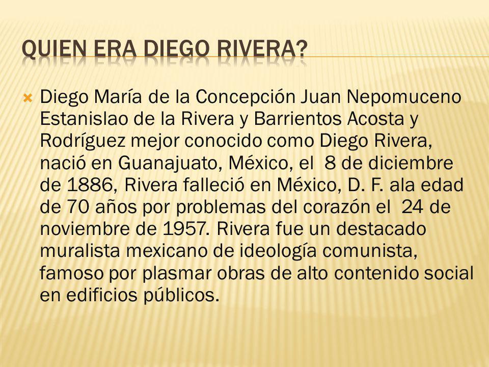 Quien era Diego Rivera