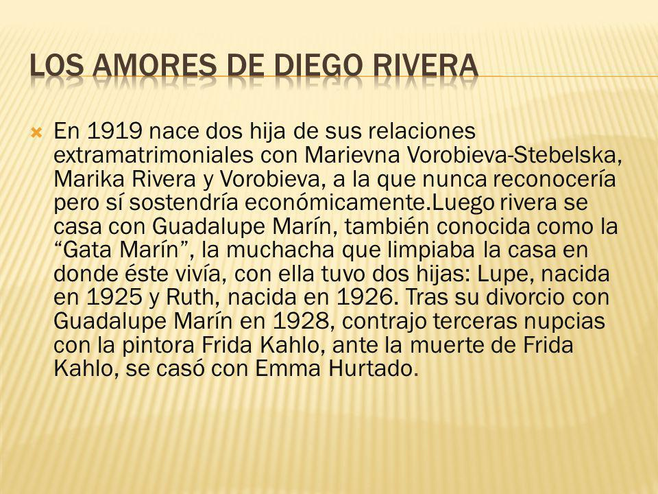 Los amores de Diego Rivera