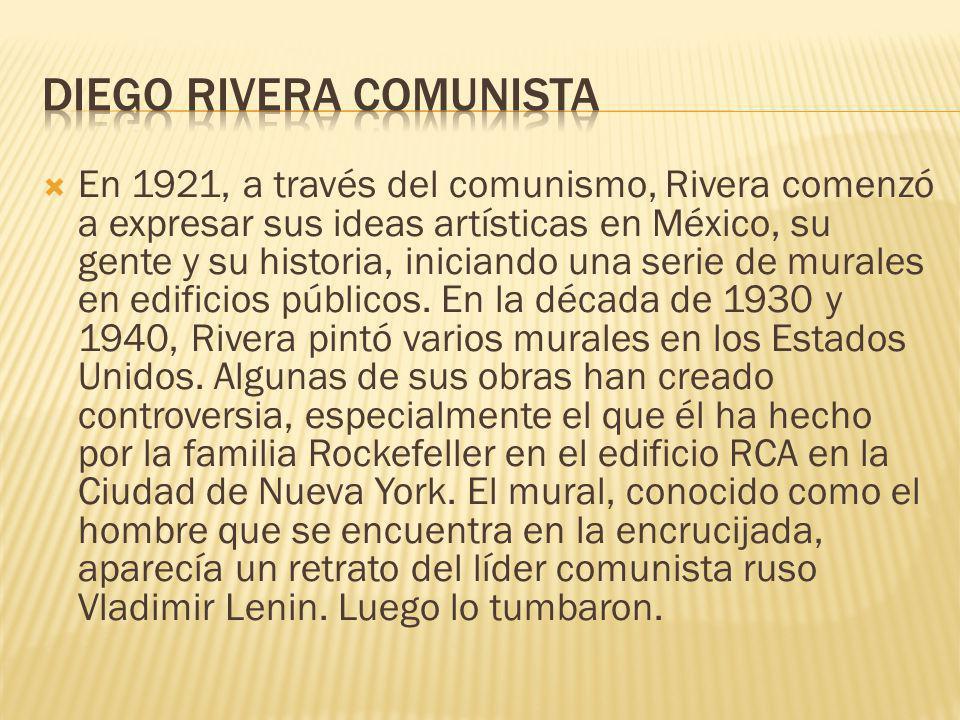 Diego rivera comunista