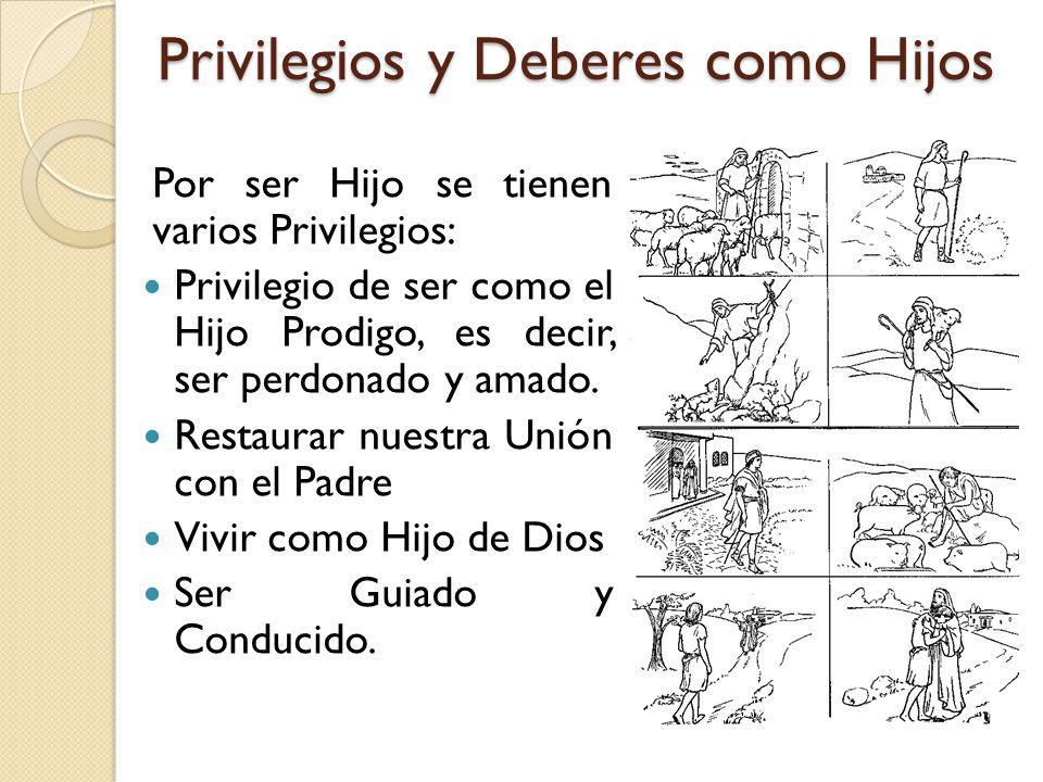 Privilegios y Deberes como Hijos