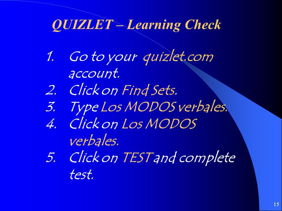 QUIZLET – Learning Check
