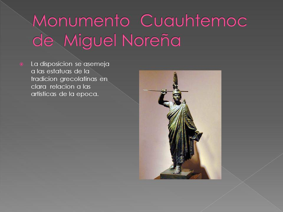 Monumento Cuauhtemoc de Miguel Noreña